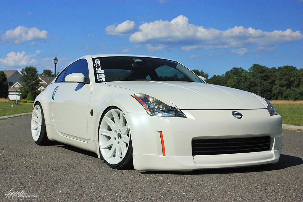 series wheels on the 350z dylan paton